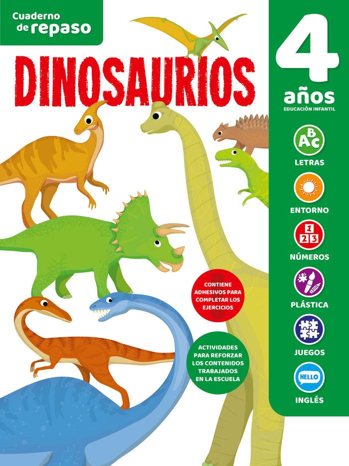 Cuaderno tematico luminiscente 4 años dinosaurios
