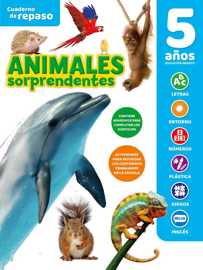 Cuaderno tematico luminiscente 5 años animales sor