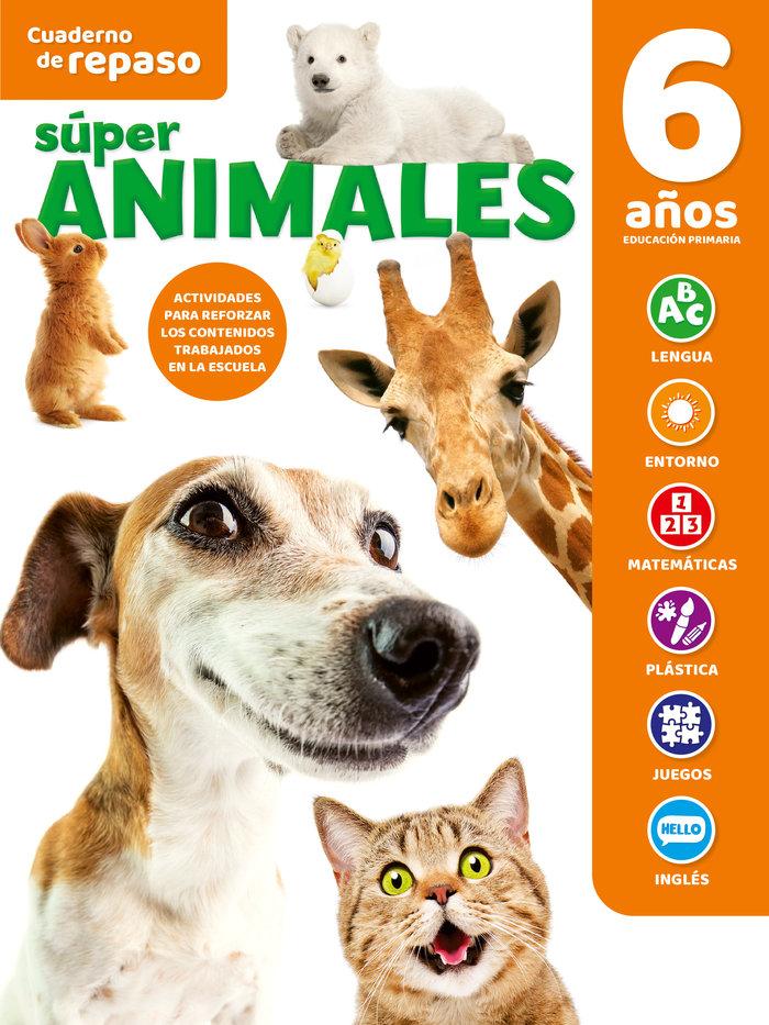 Cuaderno tematico luminiscente 6 años super animal