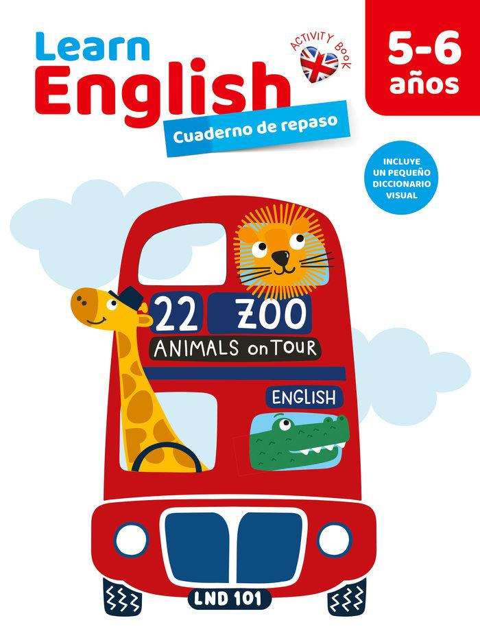 Cuaderno 5/6 años english