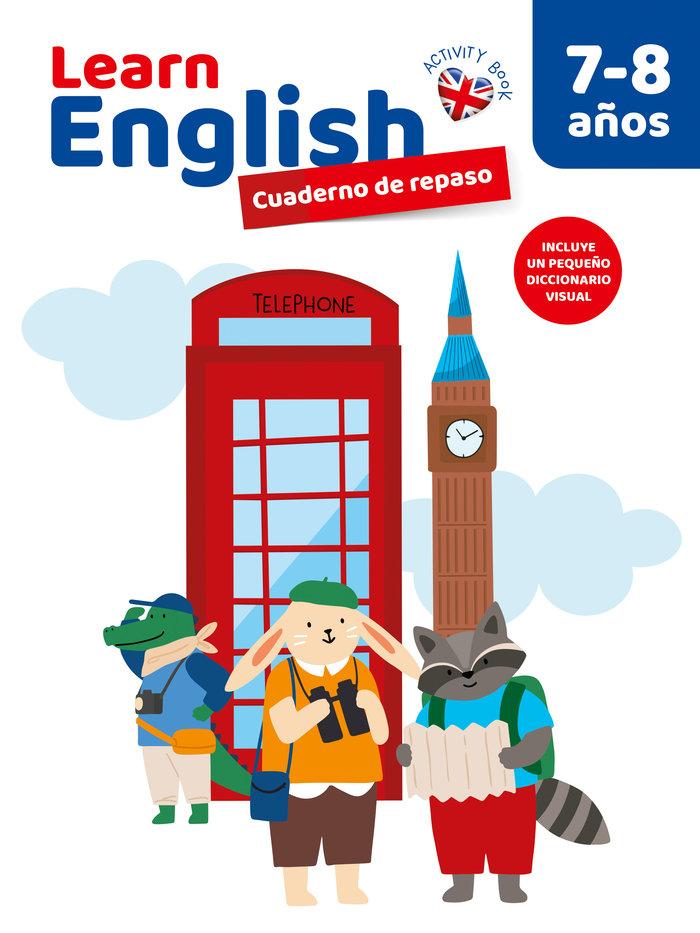 Cuaderno 7/8 años english