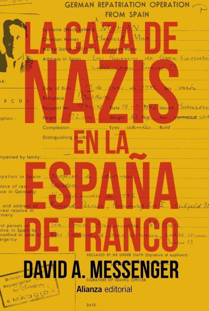 Caza de nazis en la españa de franco,la