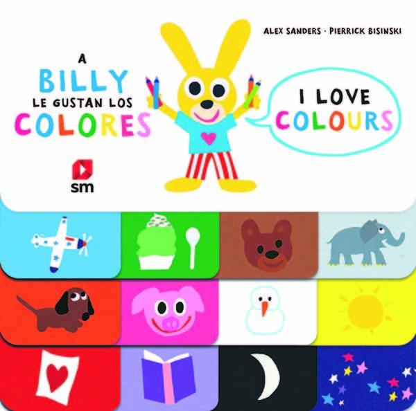 A billy le gusta los colores bilingue ingles