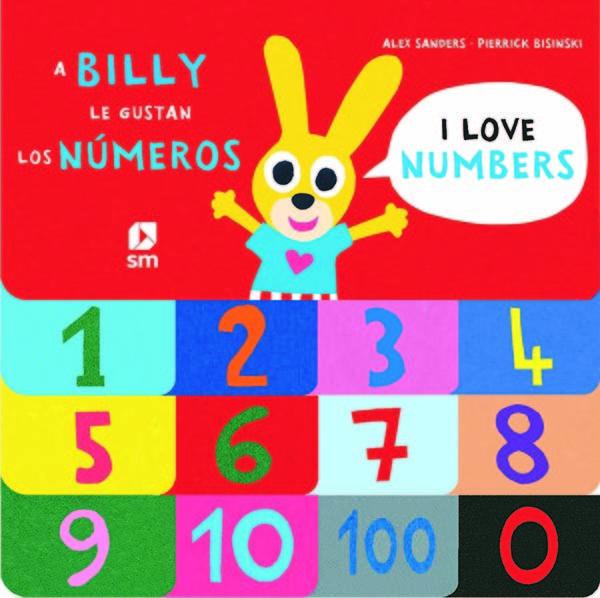 A billy le gustan los numeros bilingue ingles