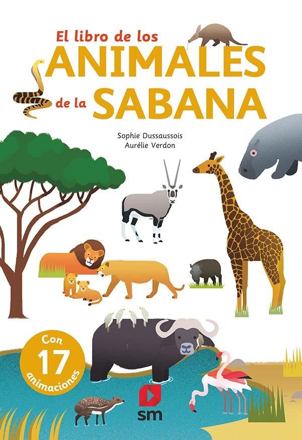 Libro de los animales de la sabana,el