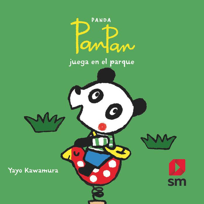 Panda panpan en el parque