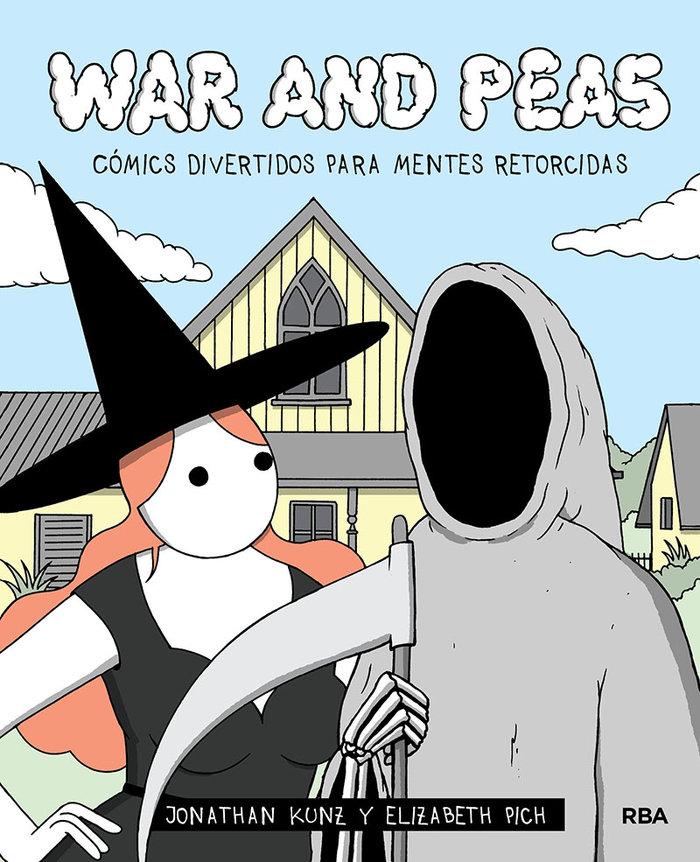 War and peas comics divertidos para mente