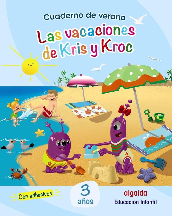 Cuaderno verano vacaciones de kris 3años 2020