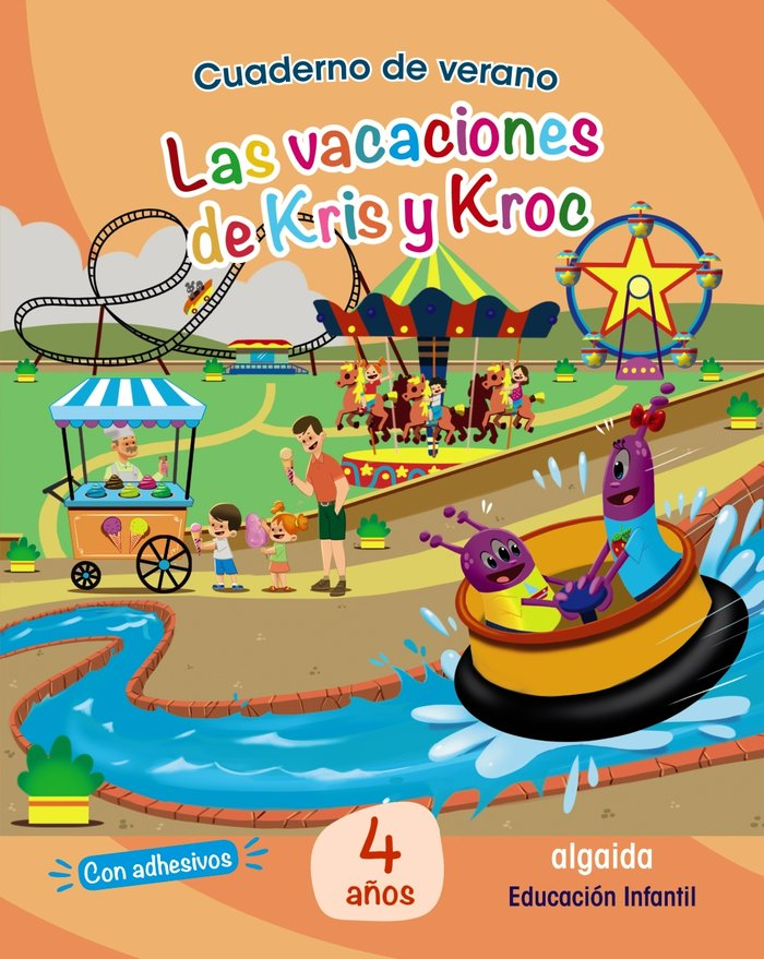 Cuaderno verano vacaciones de kris 4años 2020