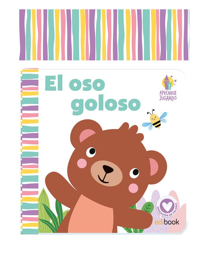 Aprender jugando el oso goloso libro baño