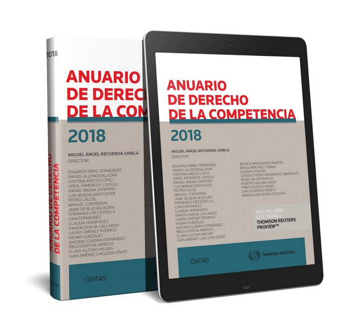 Anuario de derecho de la competencia 2018 duo