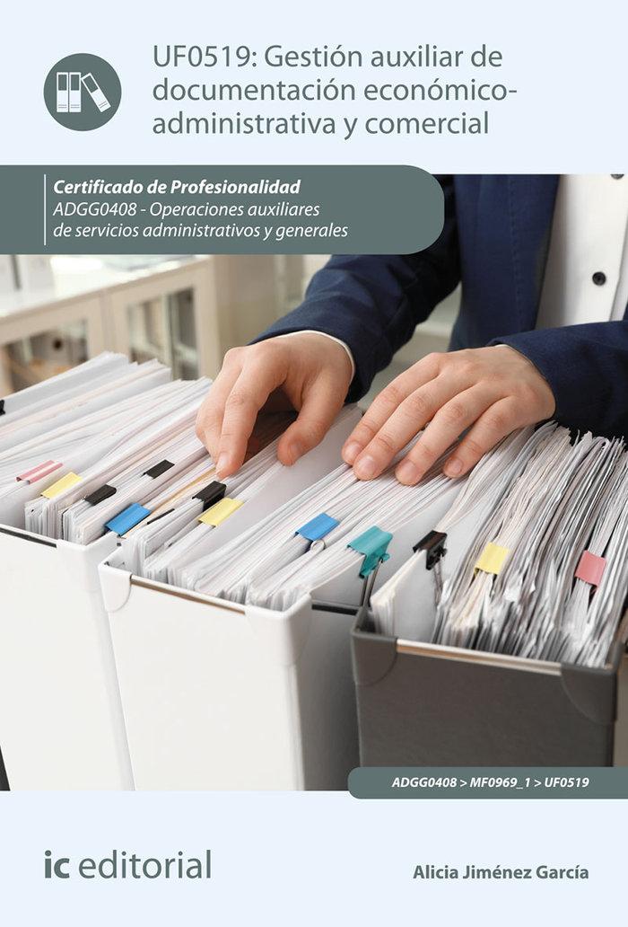 Gestion auxiliar de documentacion economico-administrativa y