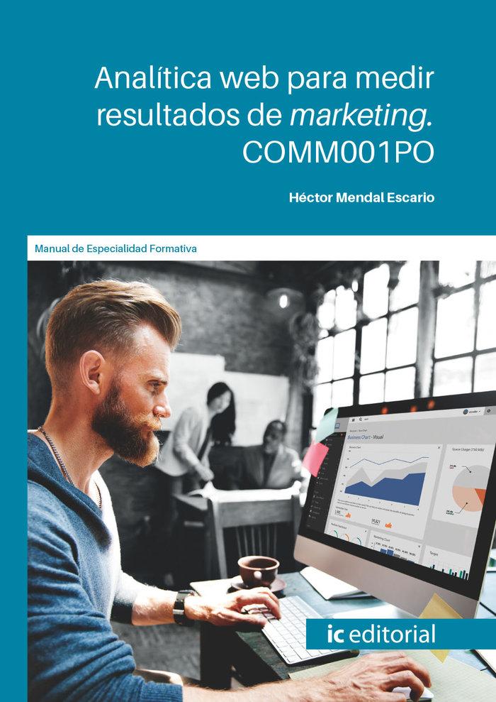 Analitica web para medir resultados de marketing. comm001po