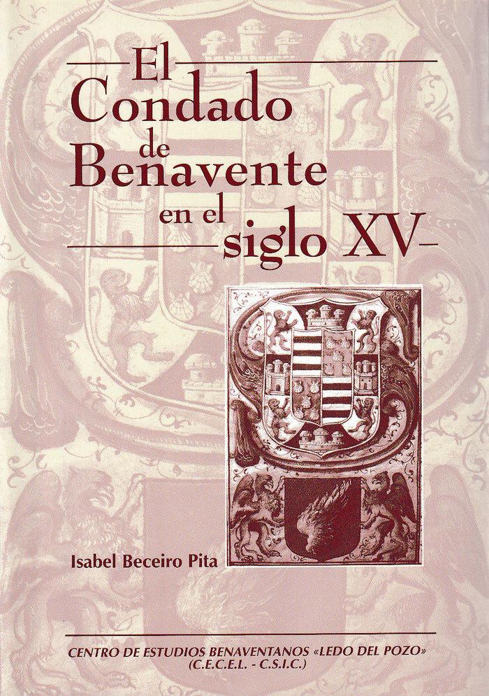 El condado de benavente en el sigloxv