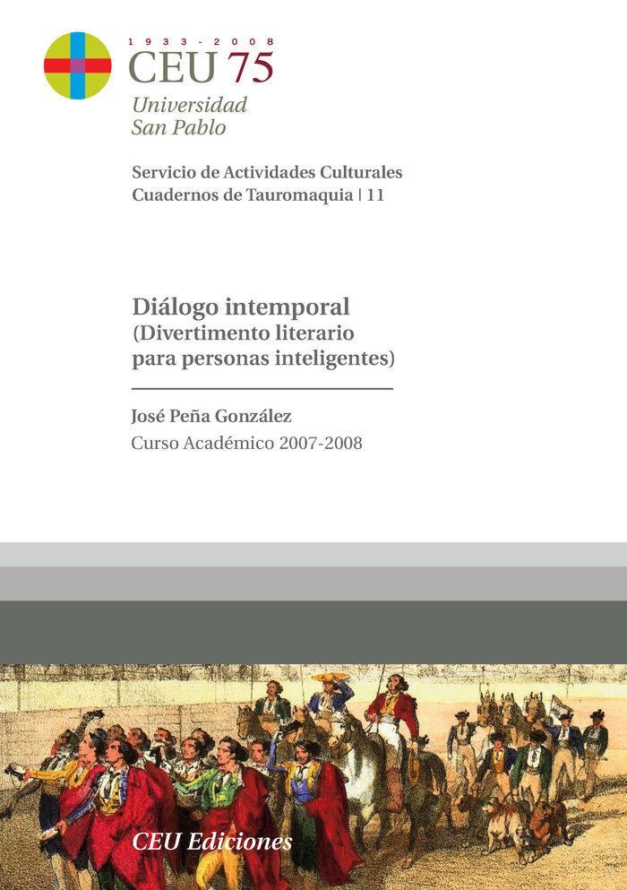 Dialogo intemporal (divertimento literario para personas int