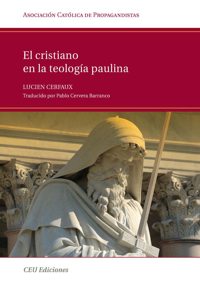 Cristiano en la teologia paulina,el