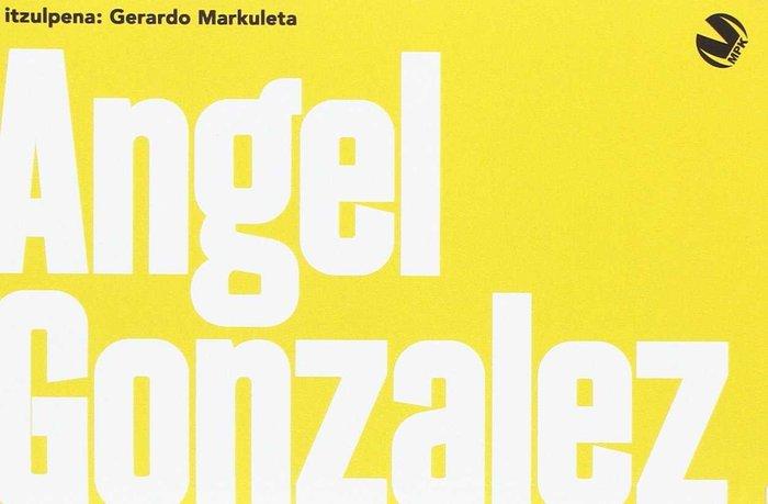 Angel gonzalez antologia