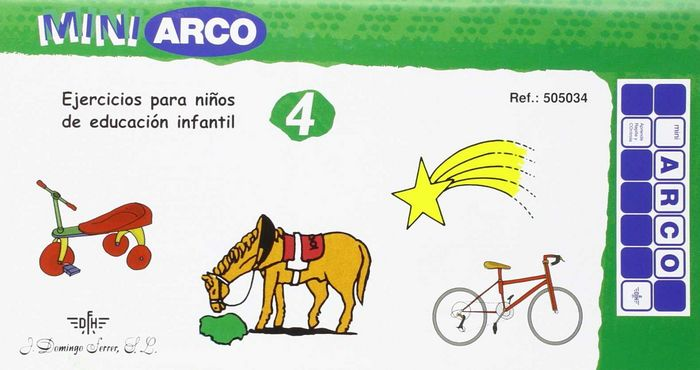 Mini arco ejerc niños edad escolar 4
