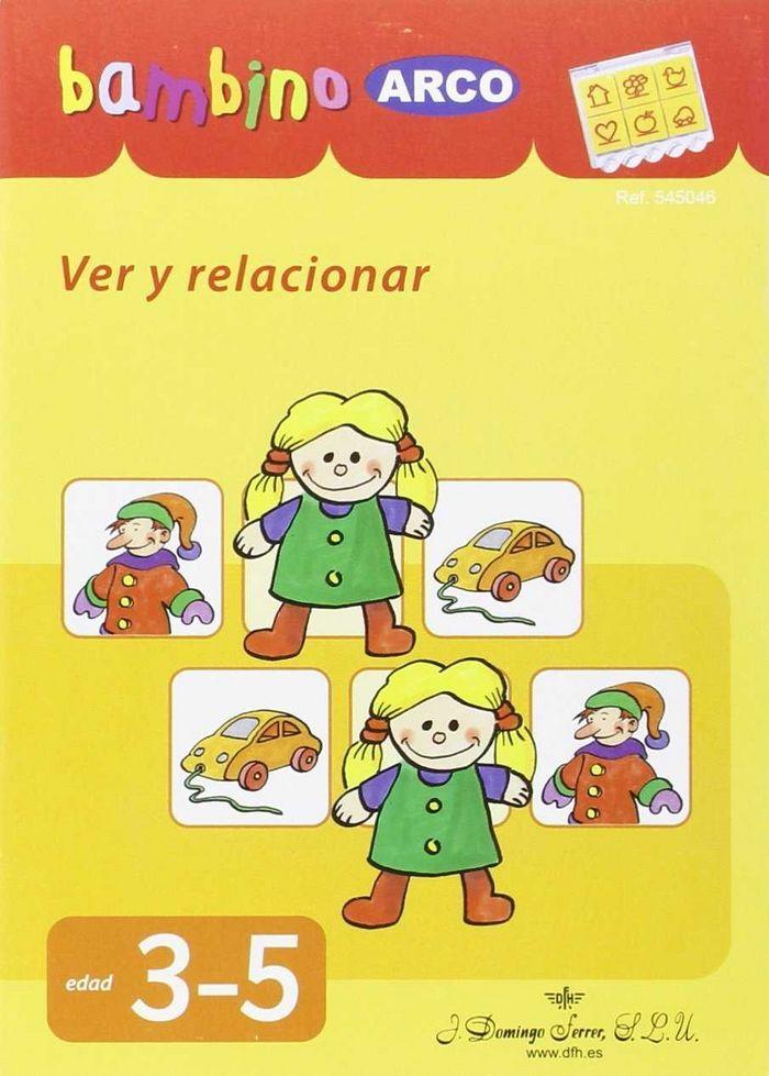 Bambino ver y relacionar de 3 a 5 años