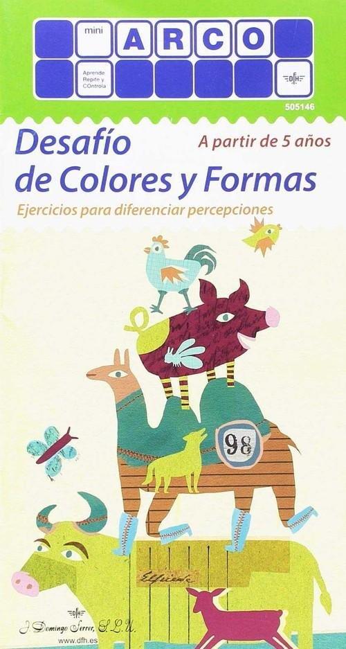 Desafio de colores y formas mini arco