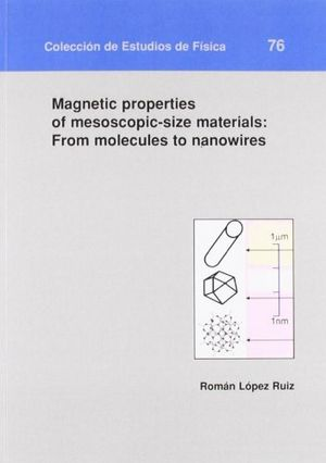 Magnetic properties of mesoscopic-size materials: from molec