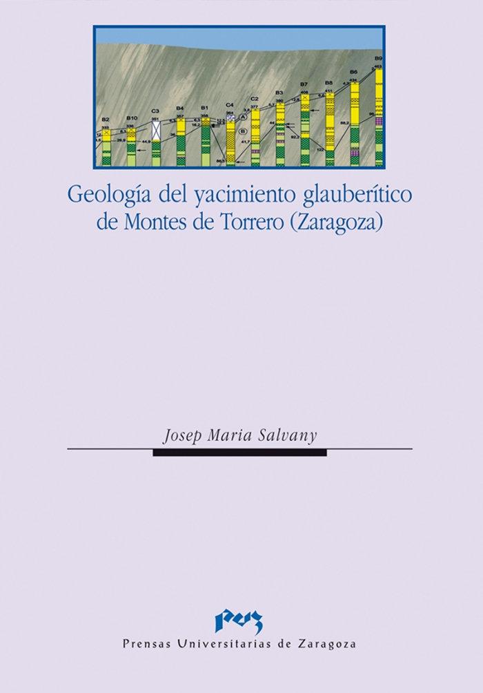 Geologia del yacimiento glauberitico de montes de torrero (z