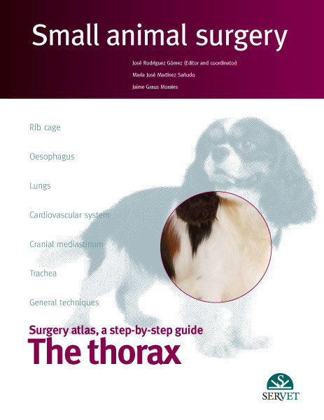 The thorax. small animal surgery