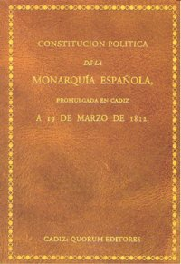 Constitucion politica monarquia española