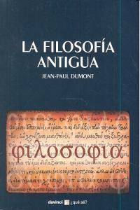Filosofia antigua,la