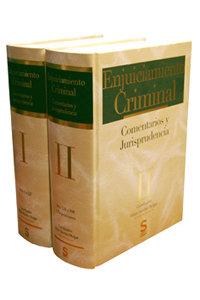 Enjuiciamiento criminal. comentarios y jurisprudencia