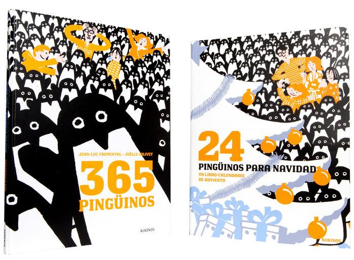 365 pinguinos con calendario