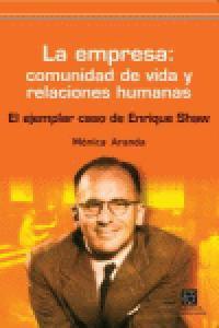 Empresa comunidad de vida y relaciones humanas,la