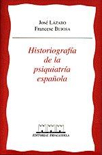 Historiografia de la psiquiatria española