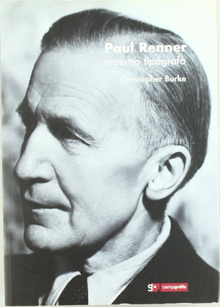 El arte de la tipografia / paul renner, maestro tipografo