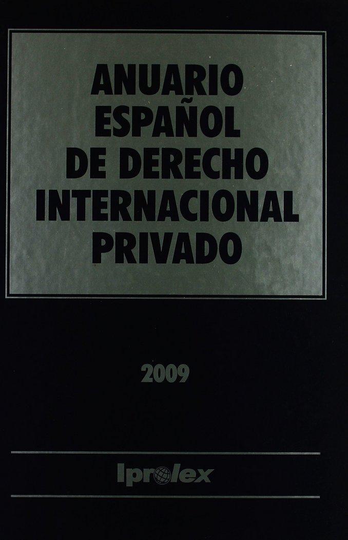 (vii)anuario espaÑol de derecho internacional privado, tomo