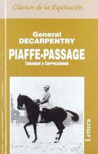 Piaffe y passage