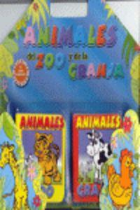 Animales del zoo y de la granja blister