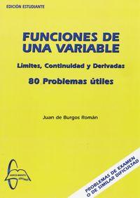 Funciones de una variable 80 problemas utiles