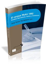 Corpus paau 1992,el
