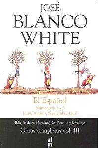 Jose blanco white el español oc iii julio agosto septiembre