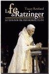 Fe de ratzinger, la la teologia del papa benedicto xvi