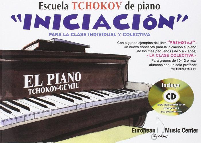 Piano iniciacion tchokov libro+cd