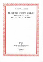 Printing ausias march: material culture and renaissance poet