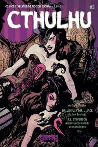 Cthulhu 03 comics y relatos de ficcion oscura