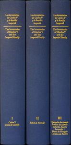 Inventarios de carlos v y la familia imperial,los