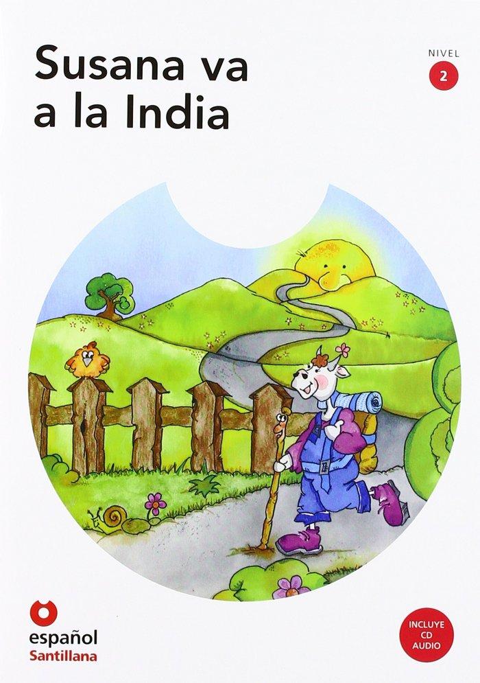 Susana va a la india (+cd) nivel 2