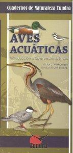 Cuadernos naturaleza 6 aves acuaticas
