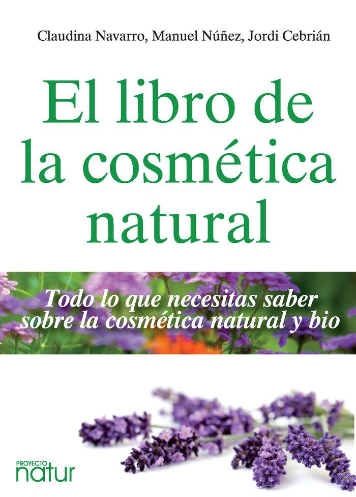 Libro de la cosmetica natural,el