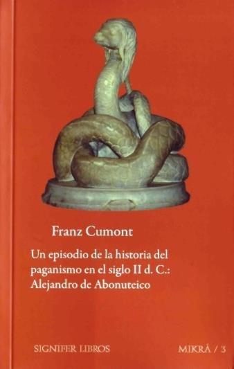 Un episodio de la historia del paganismo en el siglo ii d. c
