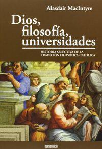 Dios filosofia universidades
